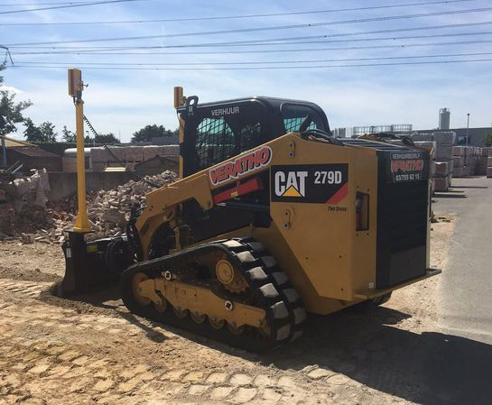 Machinebesturing rupsbobcat